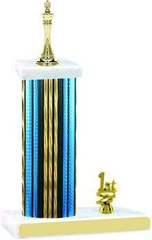 Prism Hologram Chess Trophy with Trim