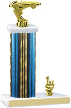 Prism Hologram Pinewood Derby Trophy with Trim
