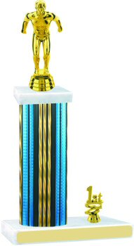 Prism Hologram Swimming Trophy with Trim